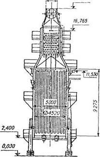 Вертикально-цилиндрическая трубчатая  печь