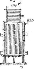Вертикально-секционная трубчатая печь