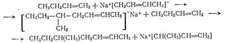 Реакция последнего а-бутиленом  может  дать 5-метил-2-гептен