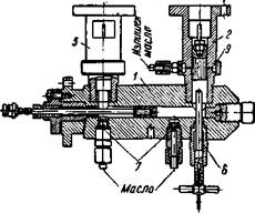 Гидравлическая часть компрессора на 6000 am