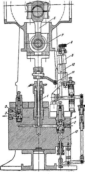 Насос для угольной пасты с регулировкой производительности подъемом всасывающего клапана на части хода нагнетания