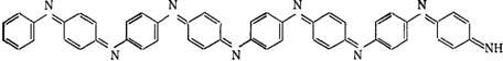 При окислении анилина пероксидом натрия в растворе соляной кислоты образуется краситель Анилиновый черный