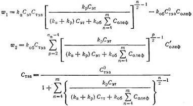 Кинетическая модель процесса олигомеризации этилена
