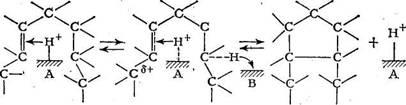 Реакция циклизации протекает по согласованному механизму