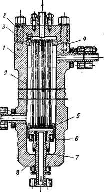 Теплообменник к установке синтеза метанола под давлением до 300 ат.
