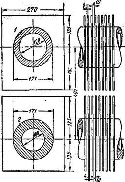 Деталь трубчатого подогревателя конвекционного типа для установок гидрирования угля
